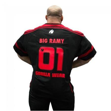 GW Athlete T-Shirt Big Ramy Black/Red