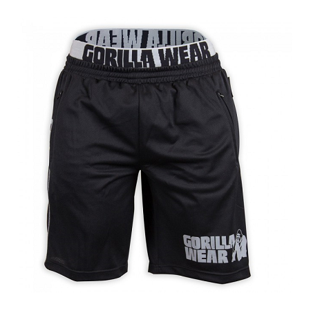 California Mesh Shorts Black/Gray