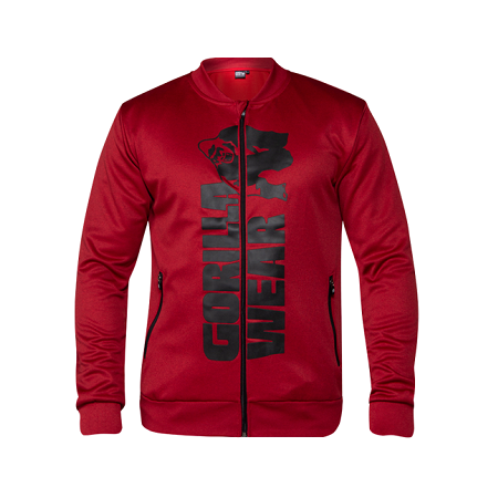 Ballinger Track Jacket - Red/Black