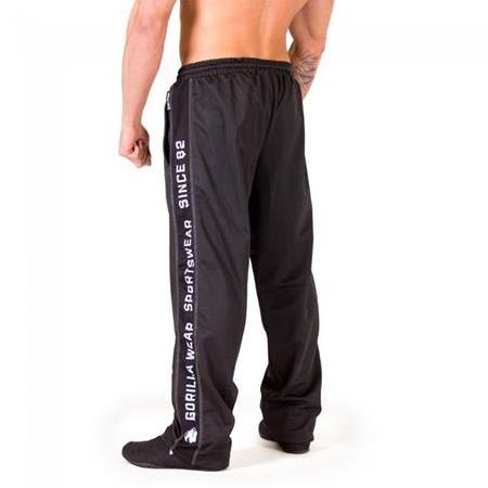Functional Mesh Pants Black/White