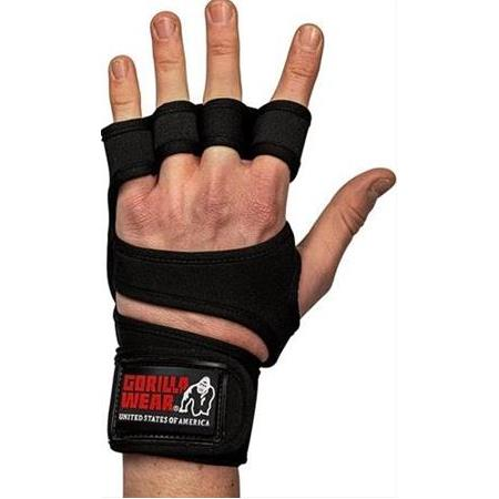 Yuma Weight Lifting Workout Gloves - Black