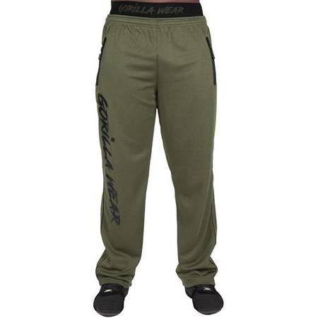 GW Mercury Mesh Pants -  Army Green/Black