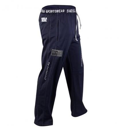 Logo Meshpants Blue