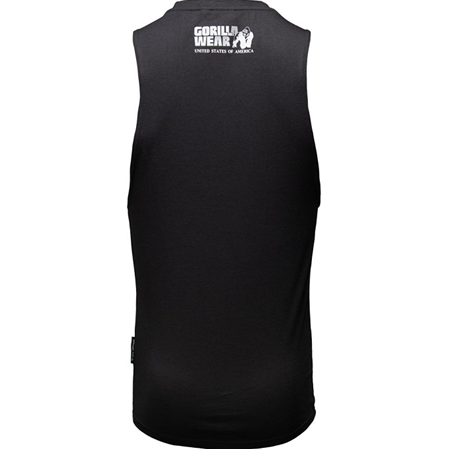 Dakota Sleeveless T-Shirt - Black