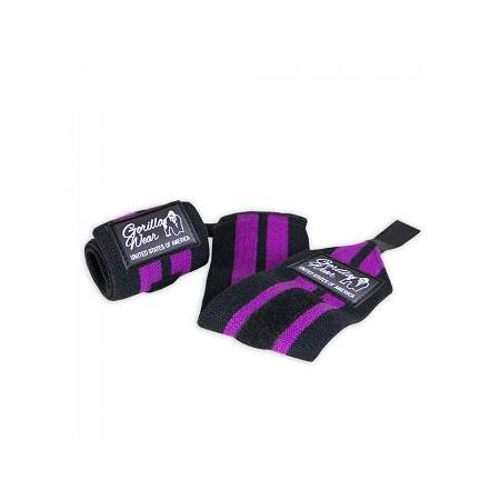 Women's Wrist Wraps Black/Purple  -Bilek Sargısı