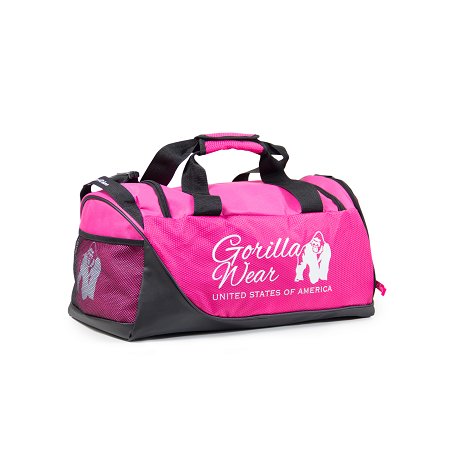 Santa Rosa Gym Bag - Black/Pink