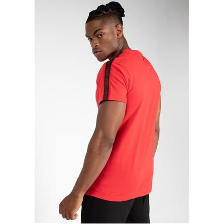 CHESTER T-SHIRT - RED/BLACK