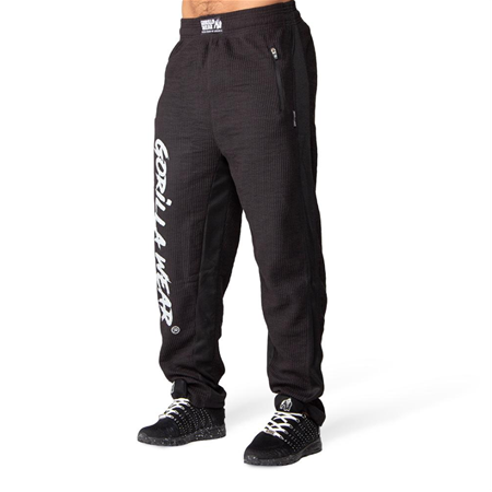 Augustine Old School Pants - Black